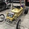 The TV show the  Munsters   .  Grandpa's car Drag-Ula