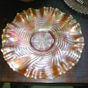 Old Man Need Help Again! Carnival Glass Plate Can't Find Pattern or Maker?