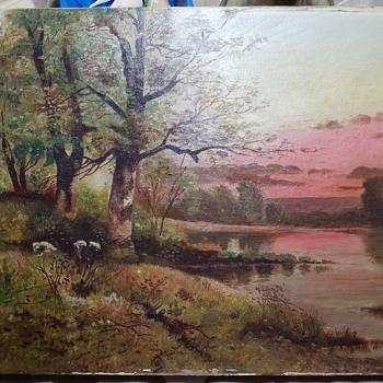 Landscape  painting - Fine Art