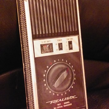 REALISTIC/RADIO SHACK/ARCHER 'slide chart' of CB radio slang and 10-codes - Electronics