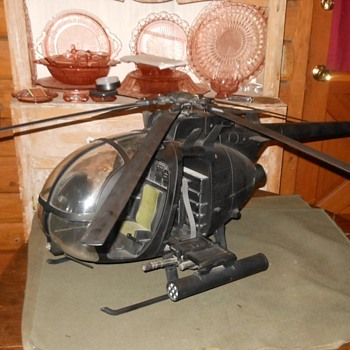 Ultimate Soldier AH-6 Little Bird Helicopter 1/6 Scale - Toys