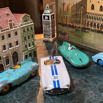 Dinky Cars from the 50s and 60s - Model Cars
