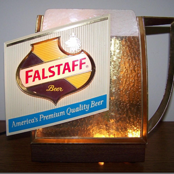 The Falstaff Sign - Mid-Century Modern
