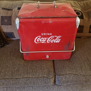 Have a Cocar Cola Cooler and a Smile! - Coca-Cola