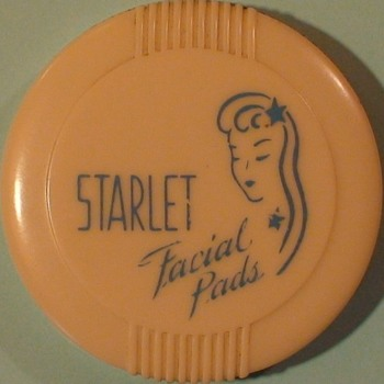 Starlet Facial Pad Container 1940s?