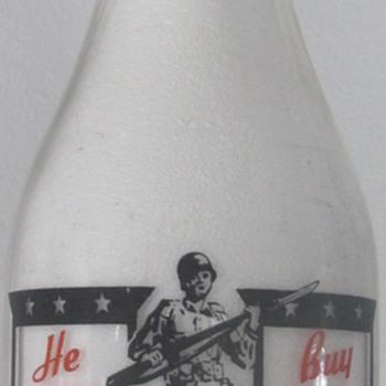 Anderson Erickson War Bond Bottles