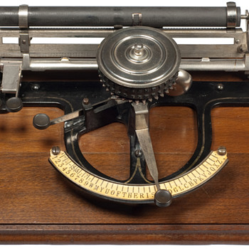 Peoples typewriter - 1891