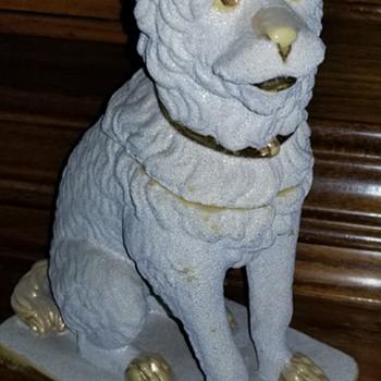 A. Tschinkel Yellow Ware  Salt Glazed Pottery Dog Box - Pottery