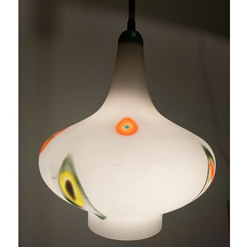 Stilnovo pendant lamp - Art Glass