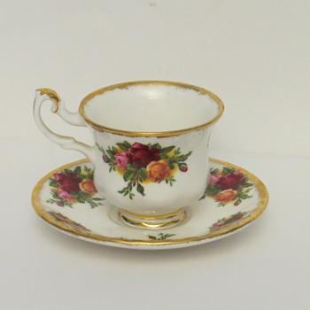 Royal Albert Miniature Cup and Saucer