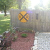 big railraod sign