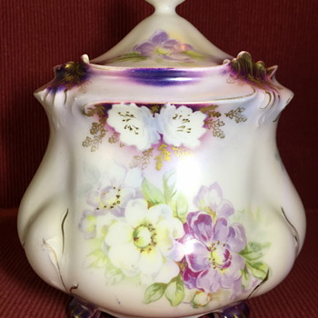 My inherited RS Prussia Biscuit/Cracker Jar - China and Dinnerware