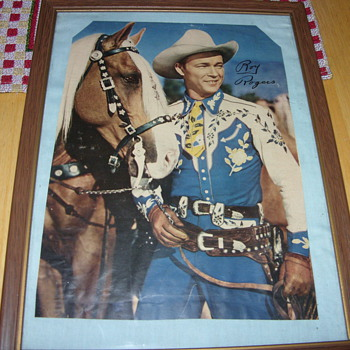 signed roy rogers and trigger - Photographs