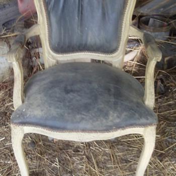 Antique Wooden Chair  - Furniture