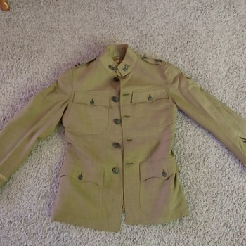 WWI Jacket - Military and Wartime