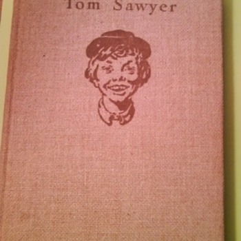 The Adventures of Tom Sawyer-- Copyright 1936 - Books