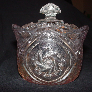 Indiana Glass Sugar Bowl