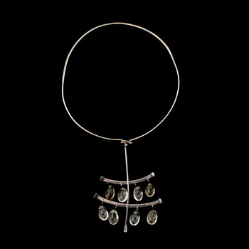Georg Jensen - Vivianna Torun, Sterling Silver Pendant - Fine Jewelry