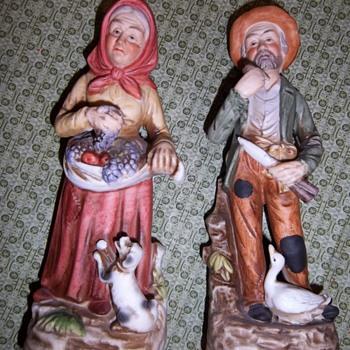 Homco Figurines #1417 - Pottery