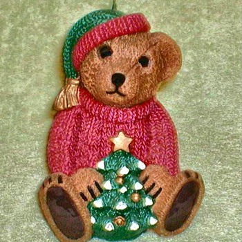 Christmas Teddy Bear Candle - Christmas