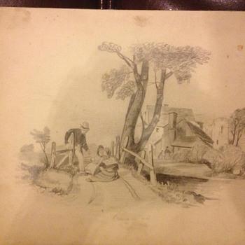 drawing c.c.wilson - Fine Art