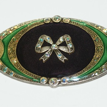 Catherine Popesco Brooch - Costume Jewelry