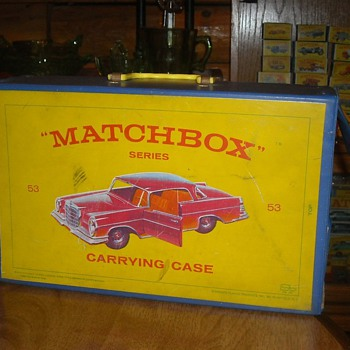Matchbox 40 Car Carrying Case 1965 - Model Cars