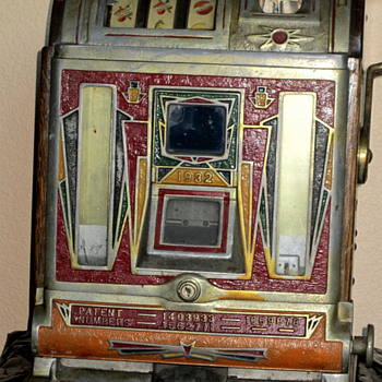 1932 Slot Machine Jennings Victoria Jackpot - Coin Operated