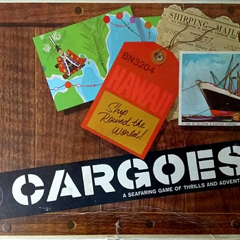 Cargoes - How To Ship Elephant Ivory Around The World!  - Games