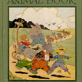 """The Raggedy Animal Book"" - First Edition 1928 - Books"