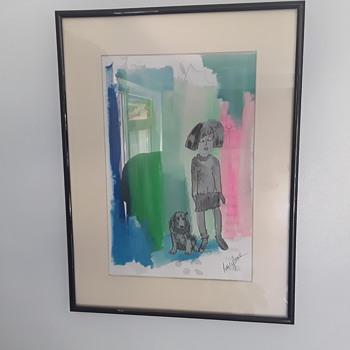 'Lucy Jane' someone  for the future ? - Fine Art