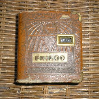 1935 Philco Addo Bank - Advertising