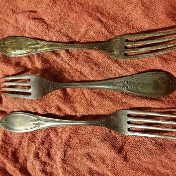 Holmes & Tuttle forks - Silver