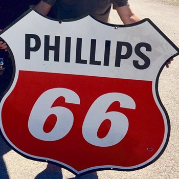 Phillips 66 Gasoline Sign - Signs