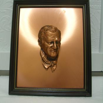 Bronze John Wayne Plaque?
