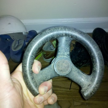 james bond, thunderball. steering wheel from submarine