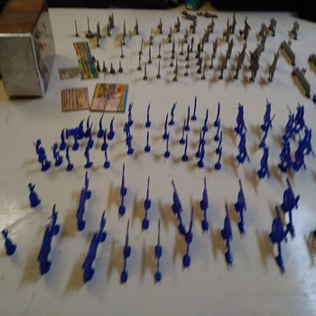 150 Civil War Soldiers  - Toys