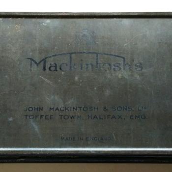 Vintage Mackintosh tin box - Advertising