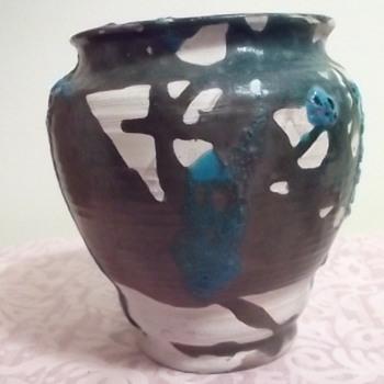 "SIMONE? Pottery Vase & ""KS"" Vase - Pottery"