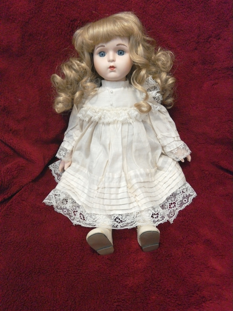 how to fix porcelain doll hair