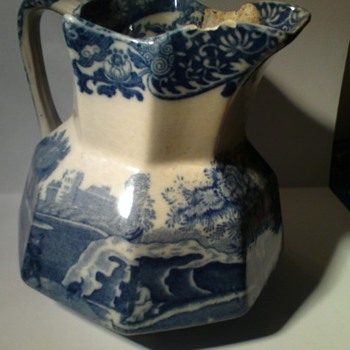 My battered but precious Copeland Spode italian Ware jug