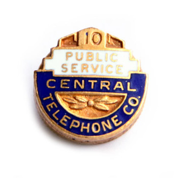 Central Telephone Company Pin