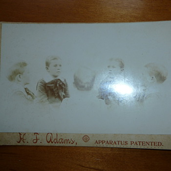 Antique Unusual Cabinet Card - Photographs