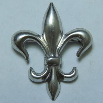 Sterling Silver Fleur de Lis Pin - Fine Jewelry