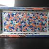 Rectangular porcelain Japanese tray