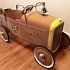 Vintage Ford fire rescue pedal car