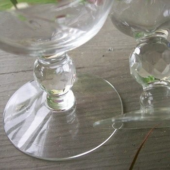 Depression era? stemware - Glassware