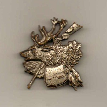 "German ""Hunters"" Hat Pin - Medals Pins and Badges"