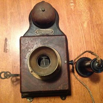 Wilhelm wood telephone - Telephones