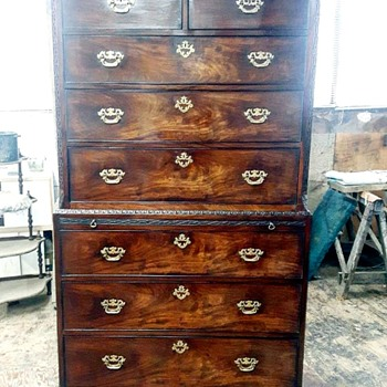 Chippendale tall boy  - Furniture